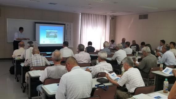 平成30年度 第1回加古川市ため池協議会連絡会にて講演を行いました