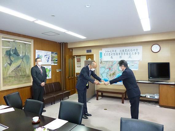 近畿農政局長表彰を受賞しました